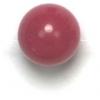 Semi-Precious 8mm Round Fuchsia Candy Jade